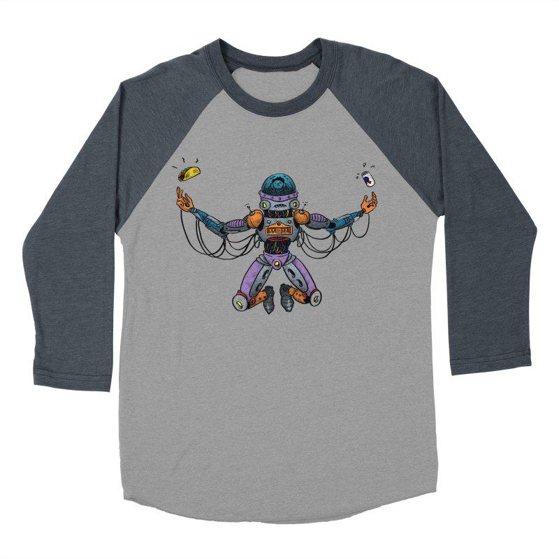 Space Tacos Women's Baseball Triblend T-Shirt by DEADBEAT HERO Artist Shop