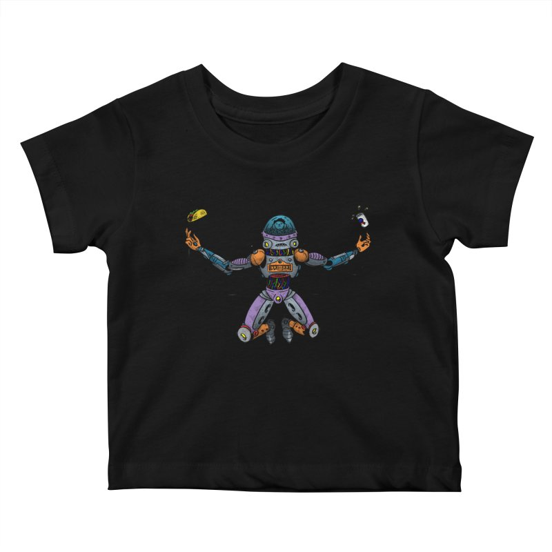Space Tacos Kids Baby T-Shirt by DEADBEAT HERO Artist Shop