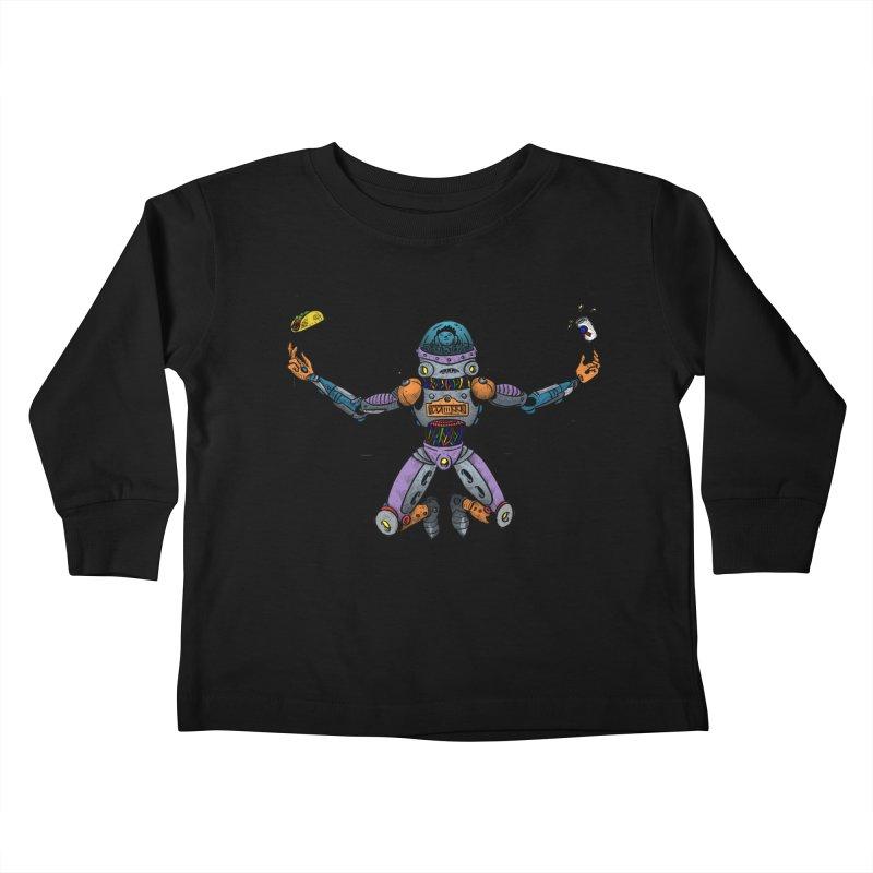 Space Tacos Kids Toddler Longsleeve T-Shirt by DEADBEAT HERO Artist Shop