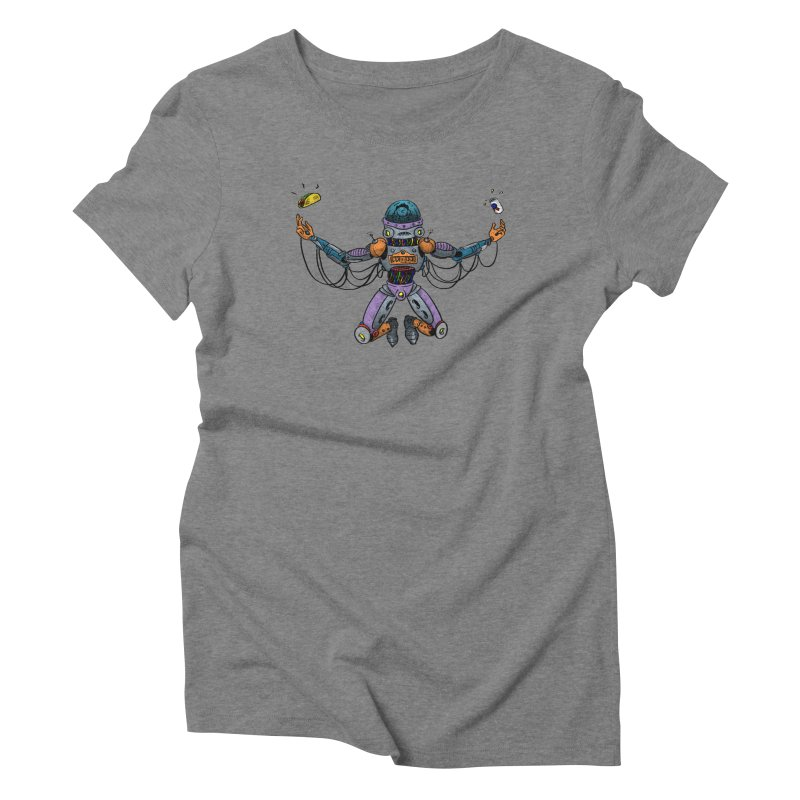 Space Tacos Women's Triblend T-Shirt by DEADBEAT HERO Artist Shop