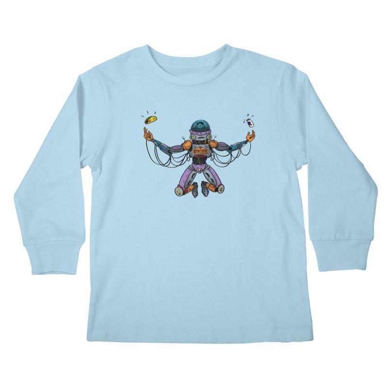 Space Tacos Kids Longsleeve T-Shirt by DEADBEAT HERO Artist Shop