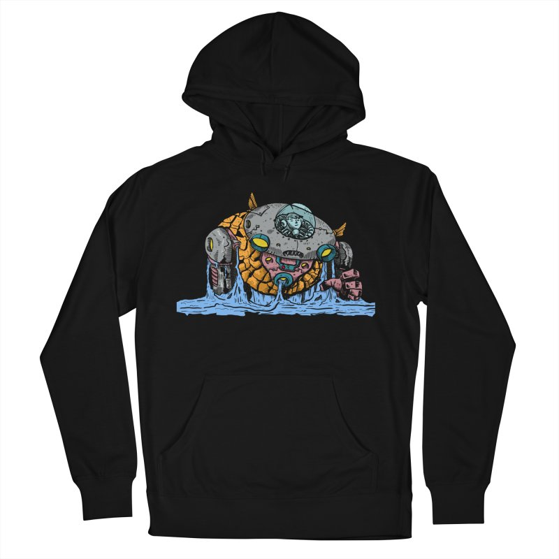 Water Spaceman Women's French Terry Pullover Hoody by DEADBEAT HERO Artist Shop