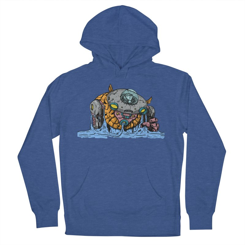 Water Spaceman Men's Pullover Hoody by DEADBEAT HERO Artist Shop