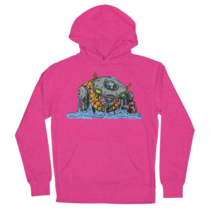 Water Spaceman Men's French Terry Pullover Hoody by DEADBEAT HERO Artist Shop