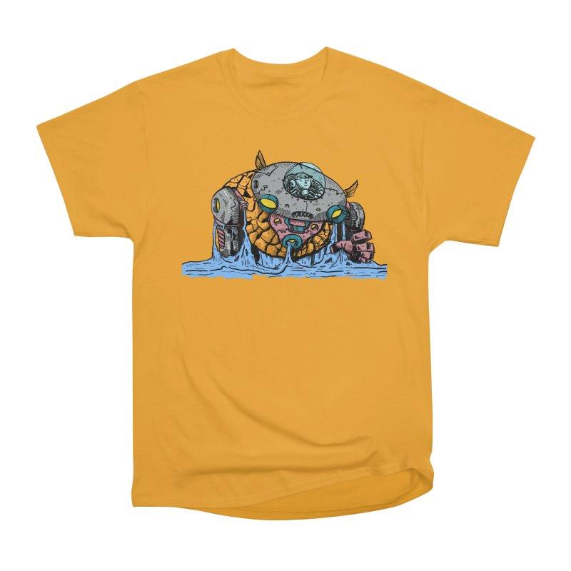 Water Spaceman Men's Heavyweight T-Shirt by DEADBEAT HERO Artist Shop