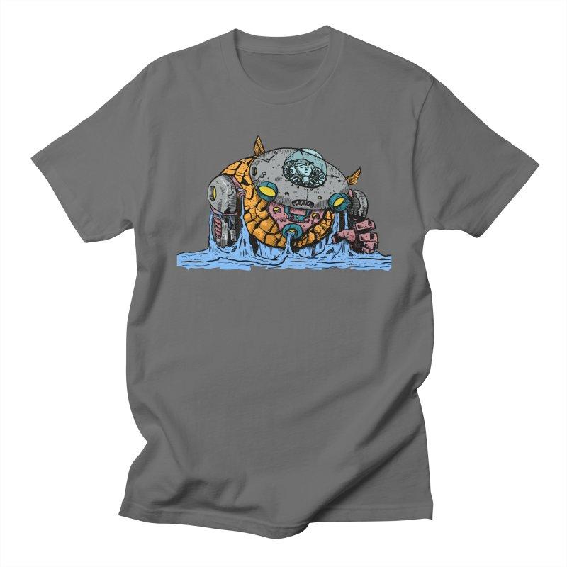 Water Spaceman Men's Regular T-Shirt by DEADBEAT HERO Artist Shop