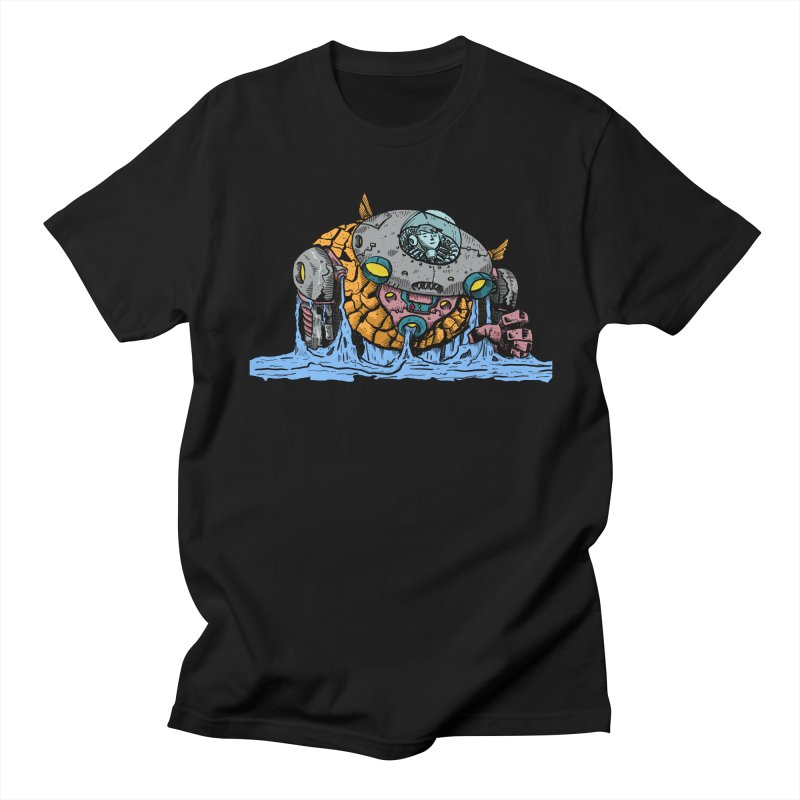 Water Spaceman Men's Regular T-Shirt by DEADBEAT HERO Artist Shop