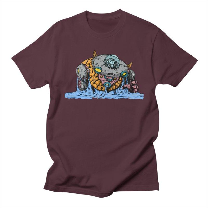 Water Spaceman Men's T-Shirt by DEADBEAT HERO Artist Shop