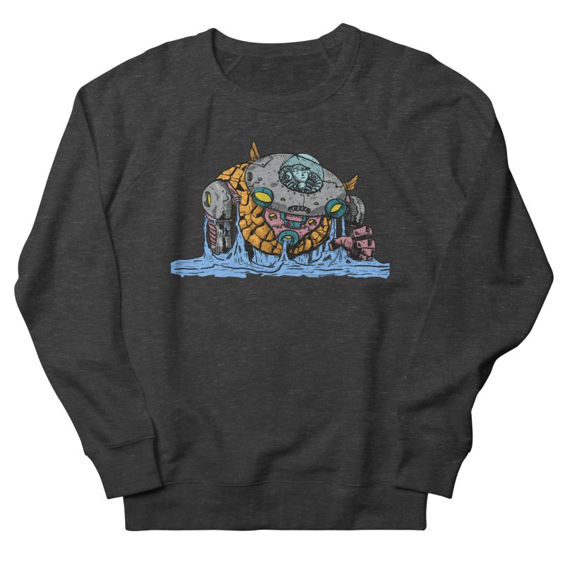 Water Spaceman Women's French Terry Sweatshirt by DEADBEAT HERO Artist Shop