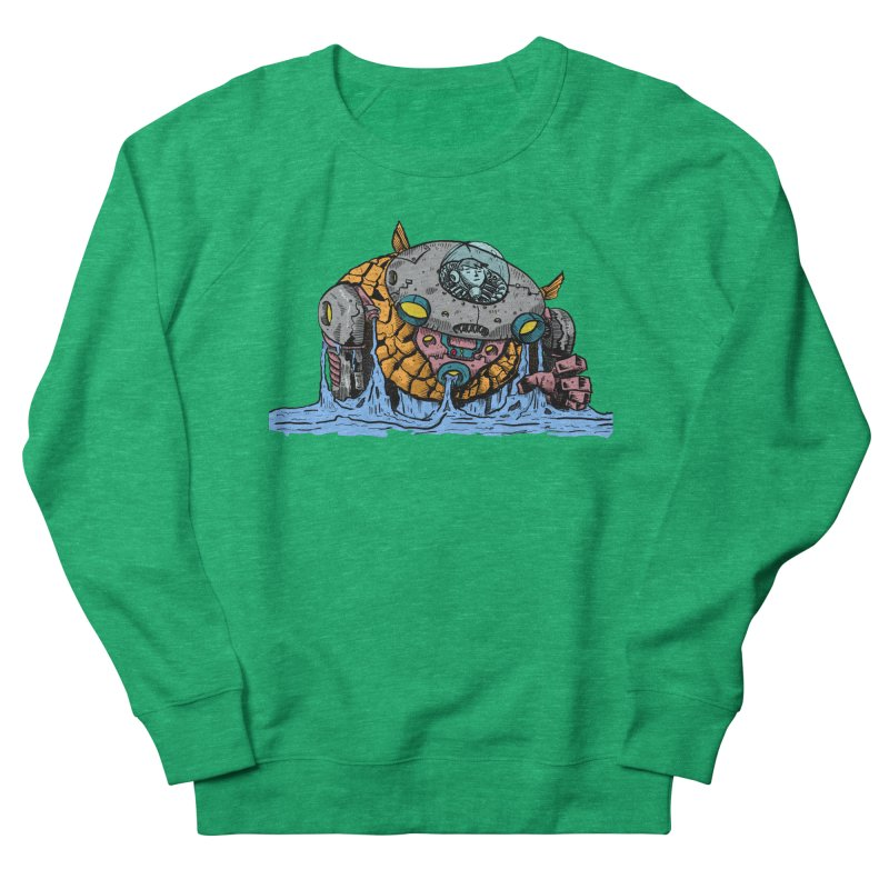 Water Spaceman Men's French Terry Sweatshirt by DEADBEAT HERO Artist Shop