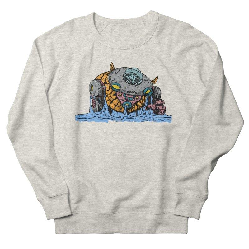 Water Spaceman Men's Sweatshirt by DEADBEAT HERO Artist Shop