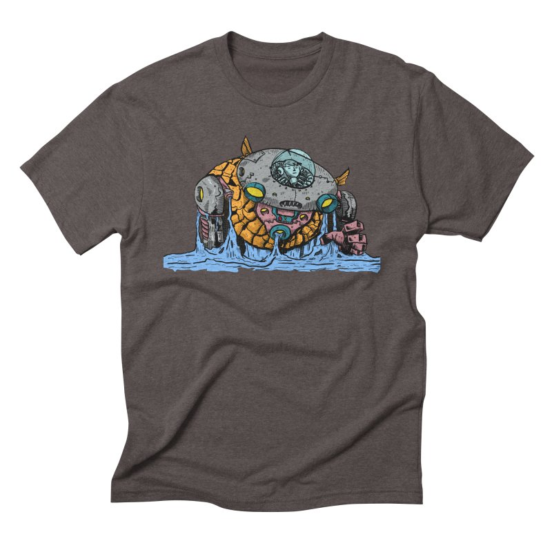 Water Spaceman Men's Triblend T-Shirt by DEADBEAT HERO Artist Shop