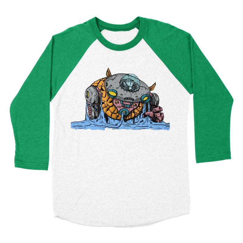 Water Spaceman Women's Baseball Triblend T-Shirt by DEADBEAT HERO Artist Shop