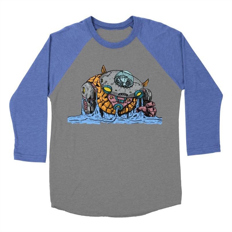 Water Spaceman Women's Baseball Triblend Longsleeve T-Shirt by DEADBEAT HERO Artist Shop