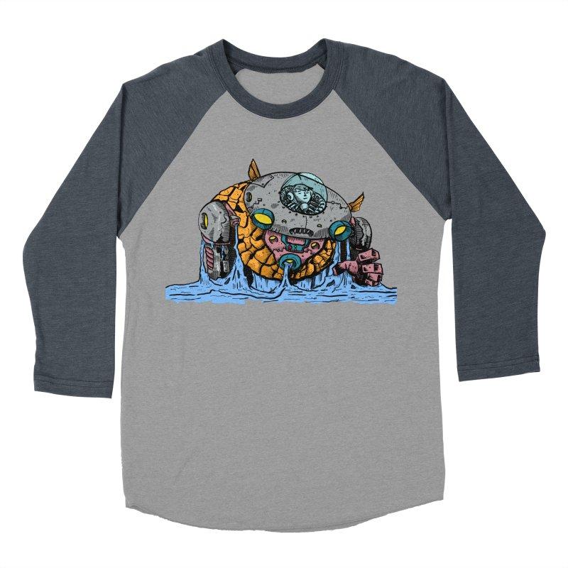 Water Spaceman Men's Baseball Triblend T-Shirt by DEADBEAT HERO Artist Shop