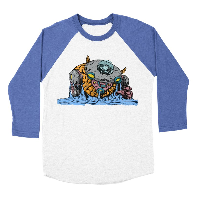 Water Spaceman Men's Baseball Triblend Longsleeve T-Shirt by DEADBEAT HERO Artist Shop