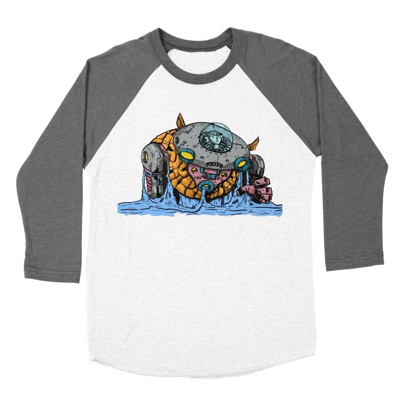 Water Spaceman Men's Baseball Triblend Longsleeve T-Shirt by DEADBEAT HERO Artist Shop