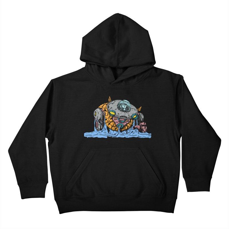 Water Spaceman Kids Pullover Hoody by DEADBEAT HERO Artist Shop