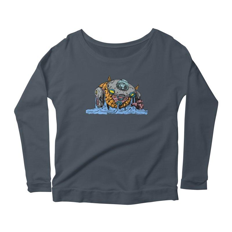 Water Spaceman Women's Scoop Neck Longsleeve T-Shirt by DEADBEAT HERO Artist Shop