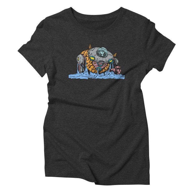 Water Spaceman Women's Triblend T-Shirt by DEADBEAT HERO Artist Shop
