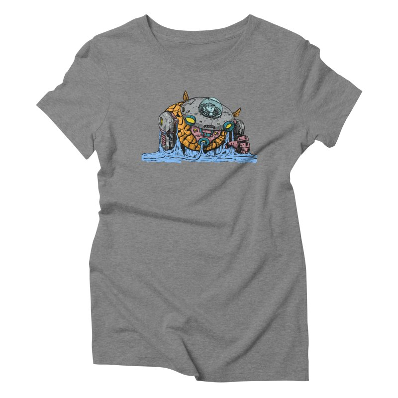 Water Spaceman Women's Triblend T-Shirt by DEADBEAT HERO Artist Shop