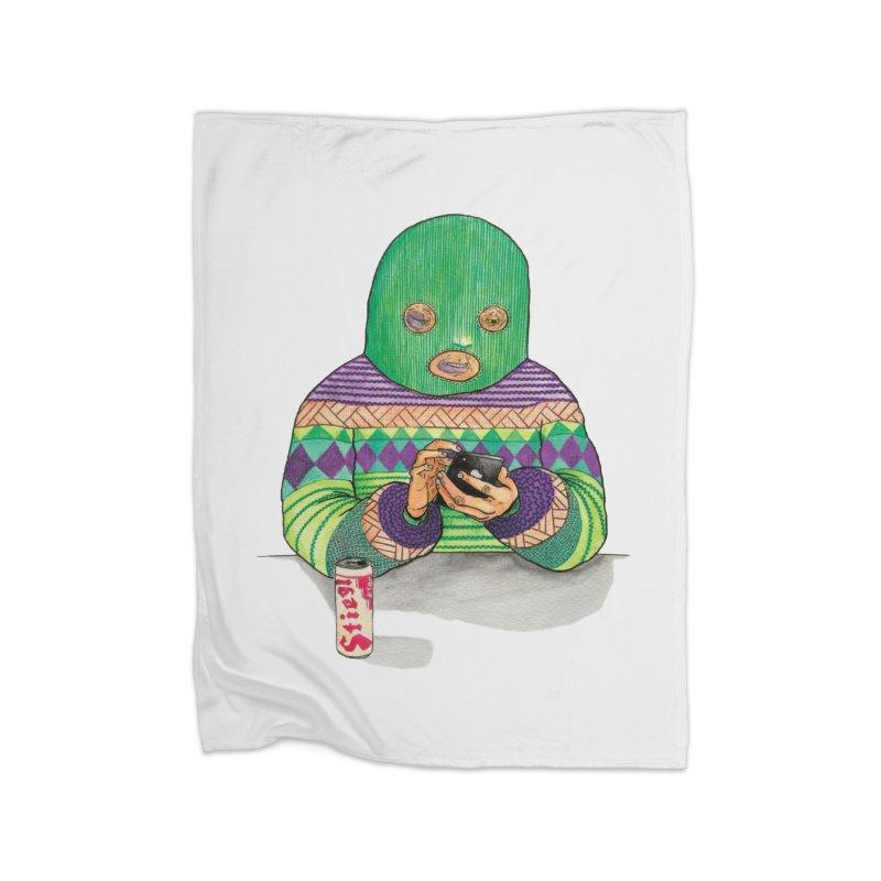 Sweatermen Tee Home Blanket by DEADBEAT HERO Artist Shop