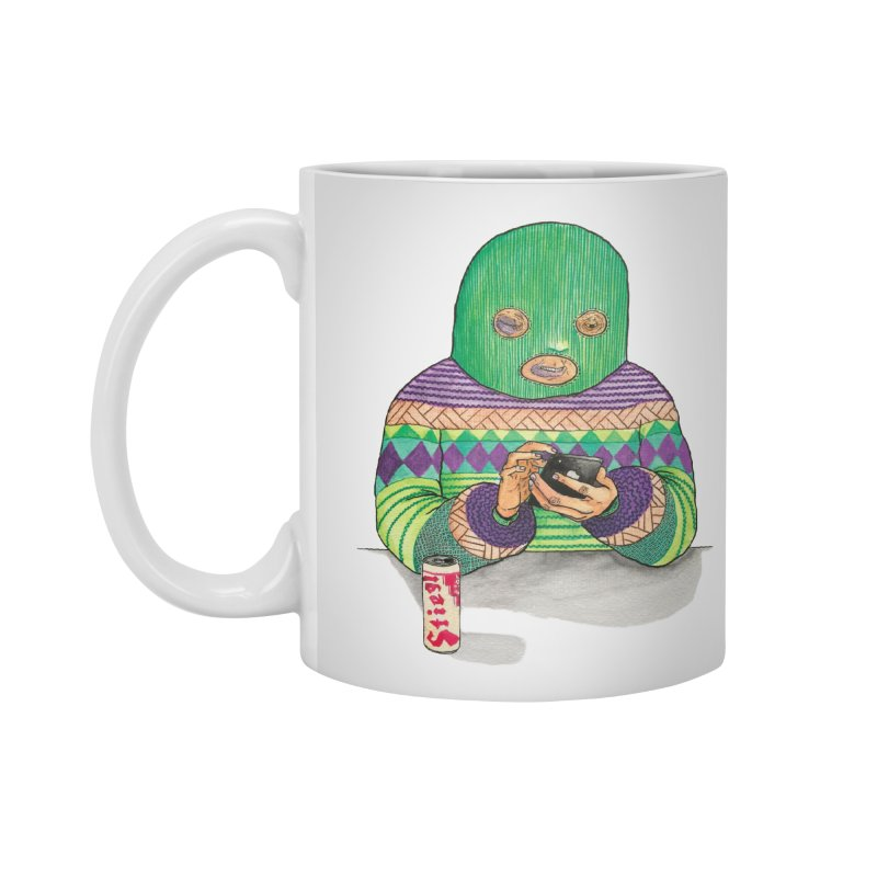 Sweatermen Tee Accessories Mug by DEADBEAT HERO Artist Shop