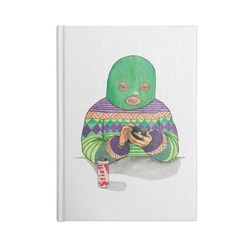 Sweatermen Tee Accessories Blank Journal Notebook by DEADBEAT HERO Artist Shop