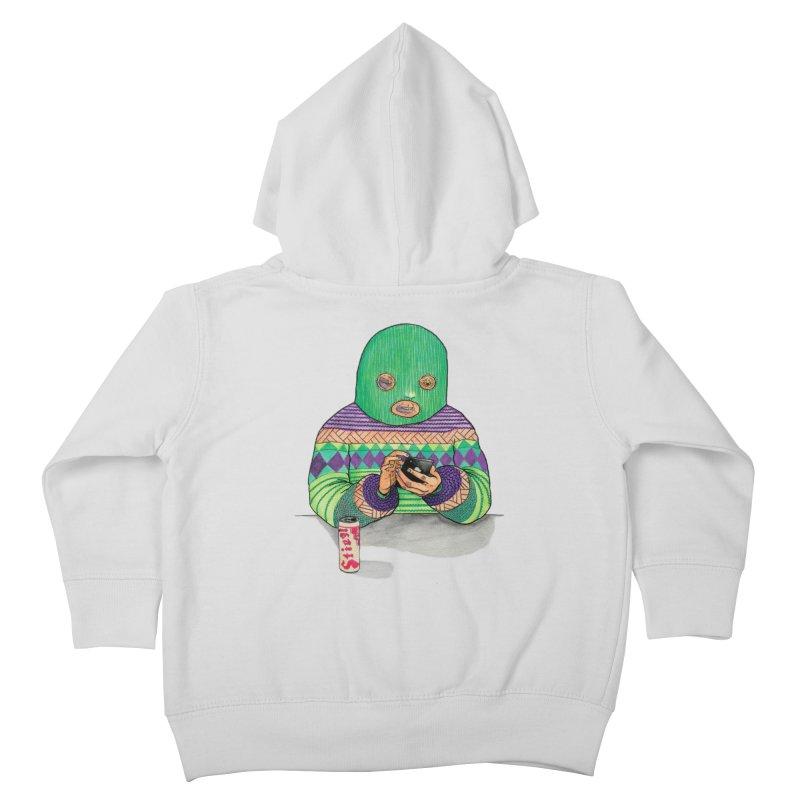 Sweatermen Tee Kids Toddler Zip-Up Hoody by DEADBEAT HERO Artist Shop