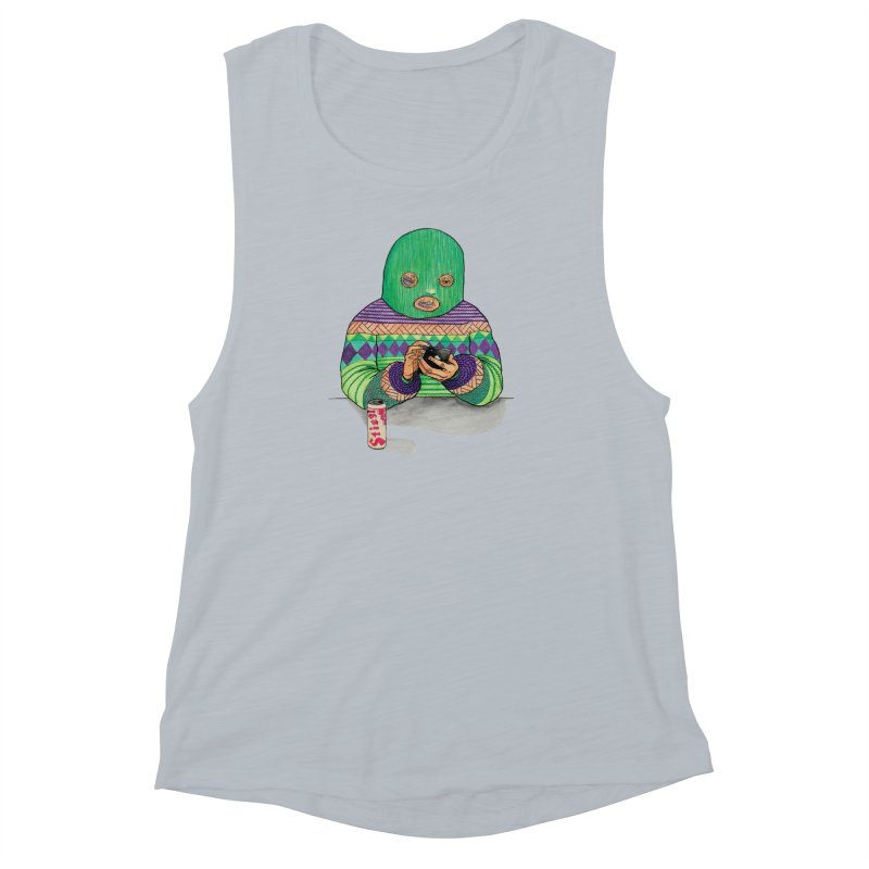 Sweatermen Tee Women's Muscle Tank by DEADBEAT HERO Artist Shop