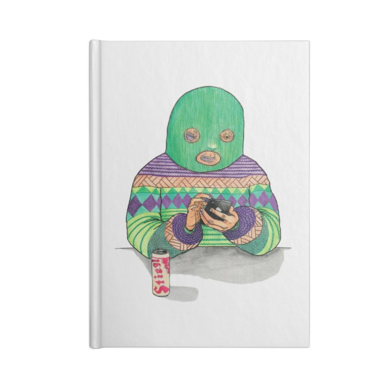 Sweatermen Tee Accessories Notebook by DEADBEAT HERO Artist Shop
