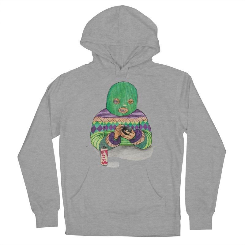 Sweatermen Tee Women's French Terry Pullover Hoody by DEADBEAT HERO Artist Shop