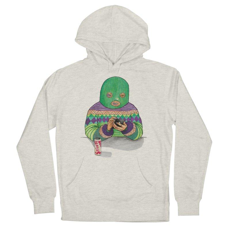 Sweatermen Tee Men's French Terry Pullover Hoody by DEADBEAT HERO Artist Shop