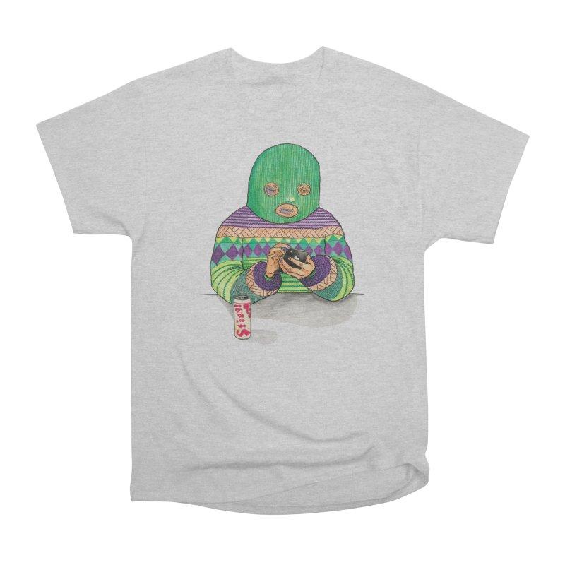 Sweatermen Tee Women's Heavyweight Unisex T-Shirt by DEADBEAT HERO Artist Shop