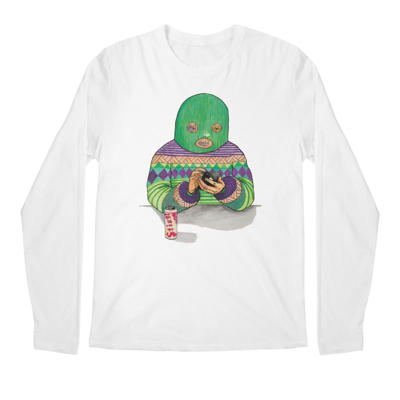 Sweatermen Tee Men's Longsleeve T-Shirt by DEADBEAT HERO Artist Shop