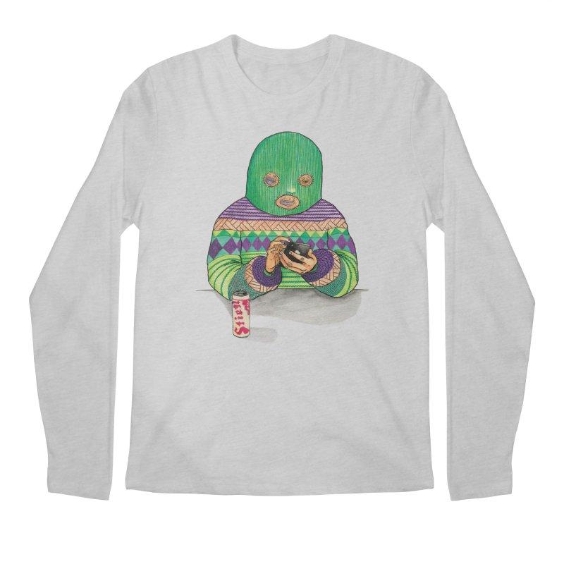Sweatermen Tee Men's Regular Longsleeve T-Shirt by DEADBEAT HERO Artist Shop