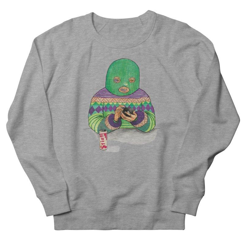 Sweatermen Tee Men's French Terry Sweatshirt by DEADBEAT HERO Artist Shop
