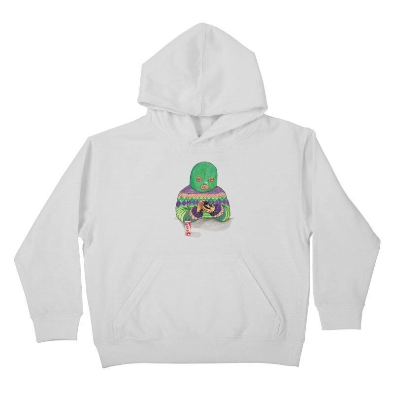 Sweatermen Tee Kids Pullover Hoody by DEADBEAT HERO Artist Shop