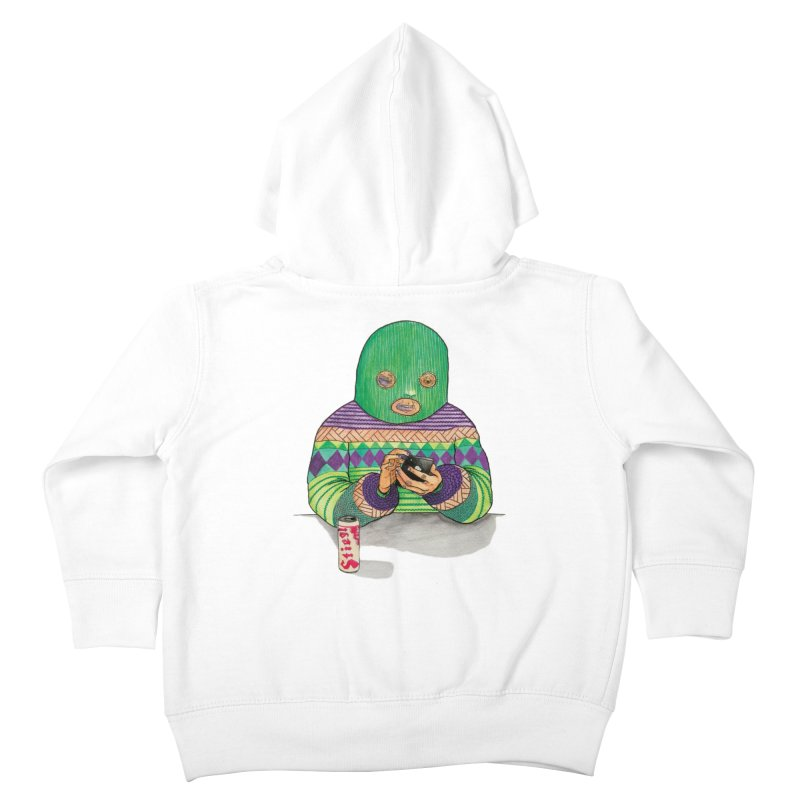 Sweatermen Tee Kids Toddler Zip-Up Hoody by DEADBEAT HERO Artist Shop