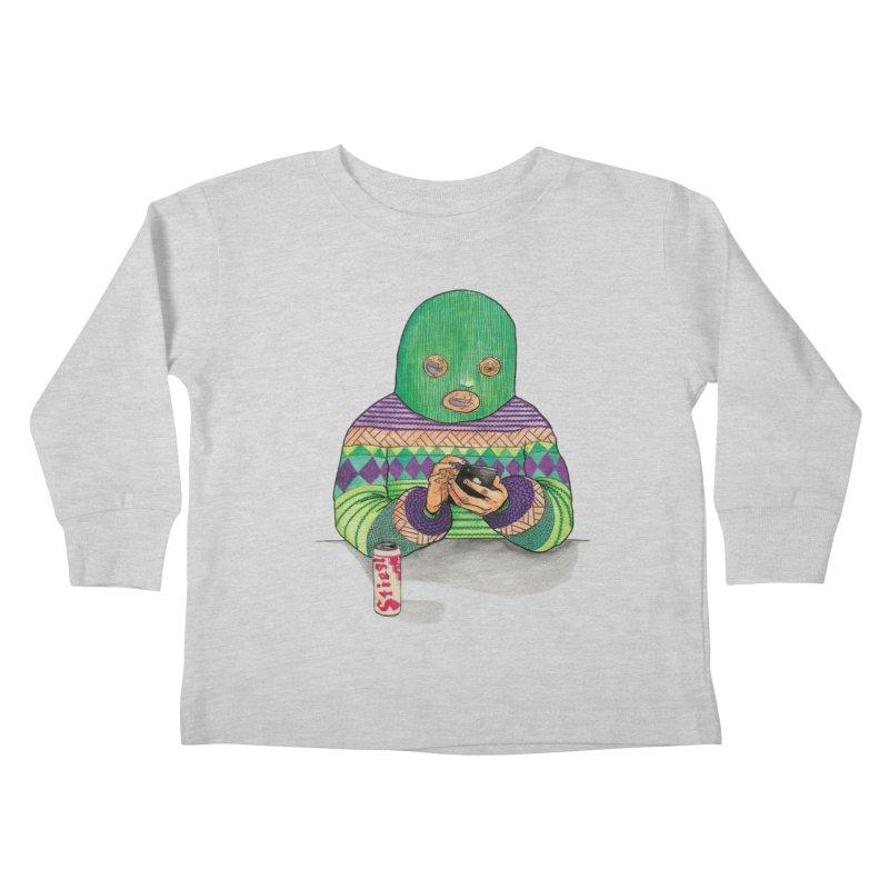 Sweatermen Tee Kids Toddler Longsleeve T-Shirt by DEADBEAT HERO Artist Shop