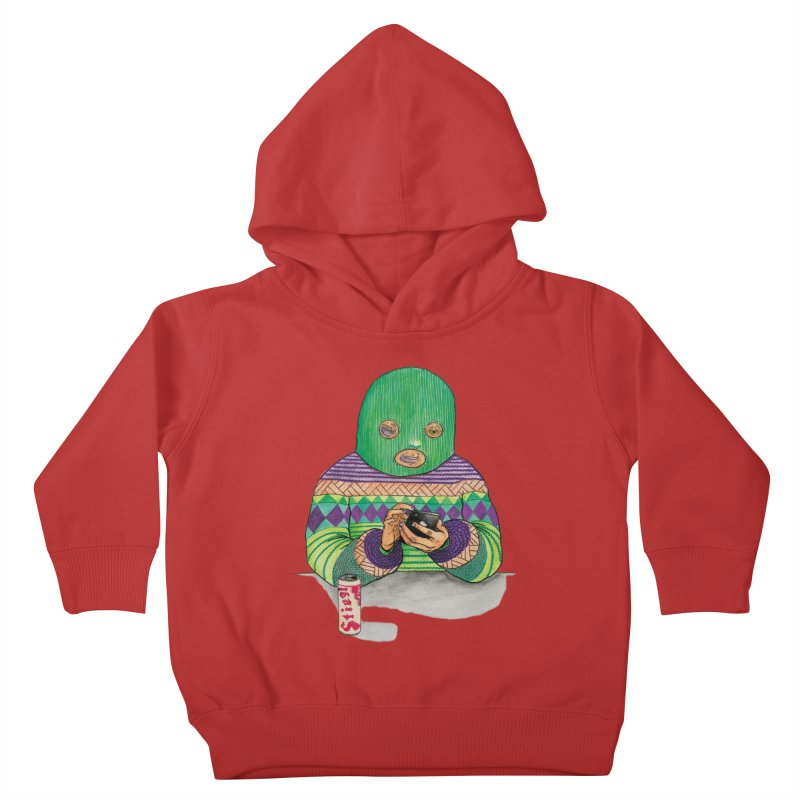 Sweatermen Tee Kids Toddler Pullover Hoody by DEADBEAT HERO Artist Shop