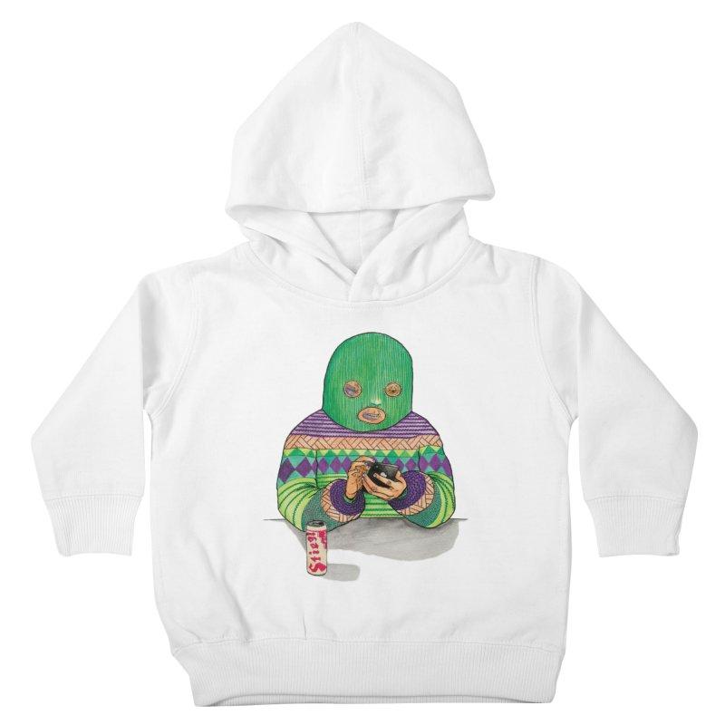 Sweatermen Tee Kids Toddler Pullover Hoody by DEADBEAT HERO Artist Shop