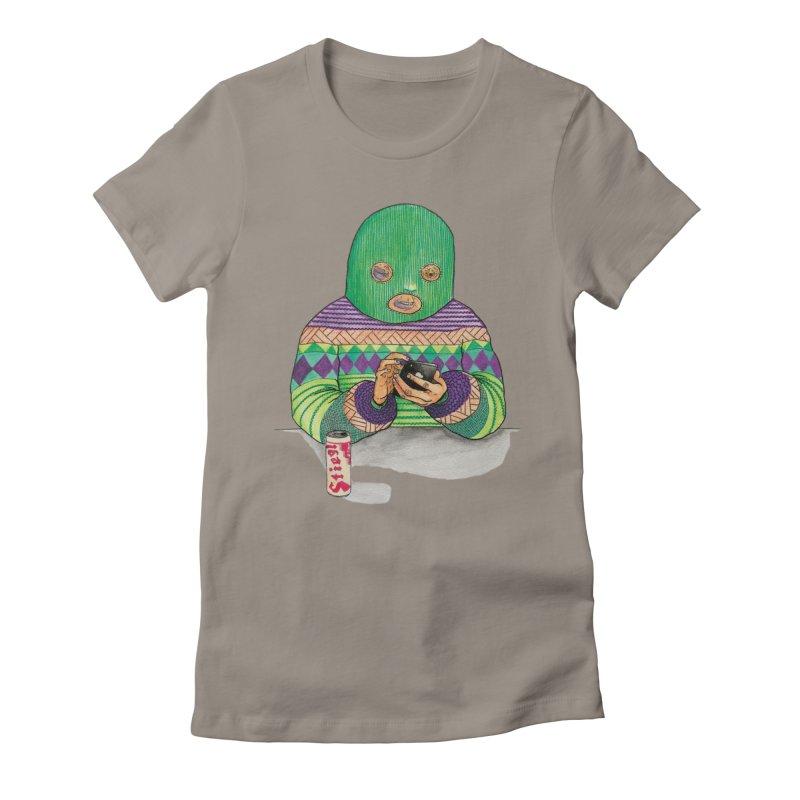 Sweatermen Tee Women's Fitted T-Shirt by DEADBEAT HERO Artist Shop