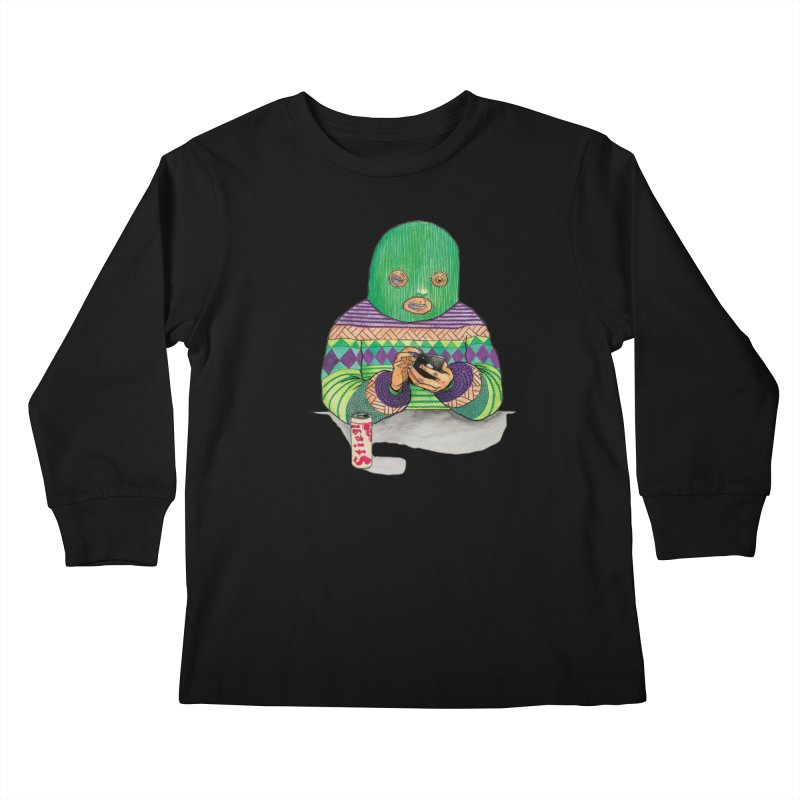 Sweatermen Tee Kids Longsleeve T-Shirt by DEADBEAT HERO Artist Shop