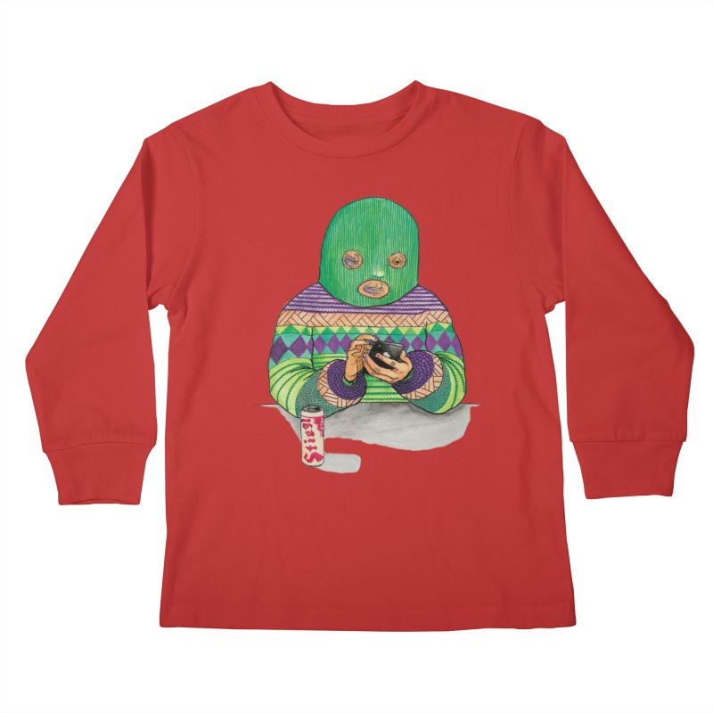 Sweatermen Tee Kids Longsleeve T-Shirt by DEADBEAT HERO Artist Shop