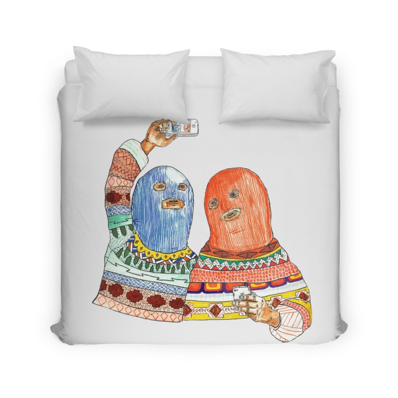 Selfies Home Duvet by DEADBEAT HERO Artist Shop