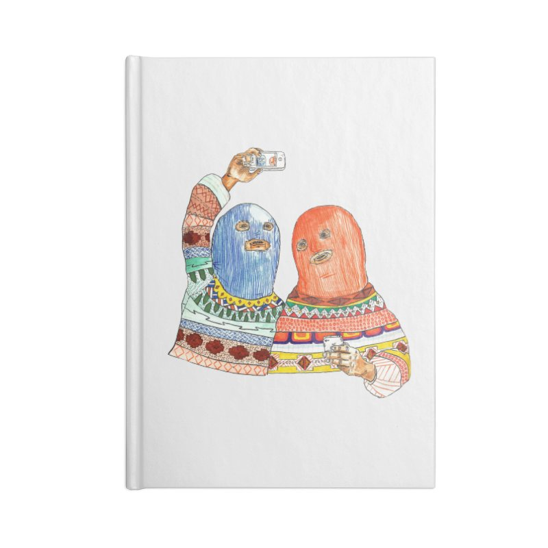 Selfies Accessories Blank Journal Notebook by DEADBEAT HERO Artist Shop