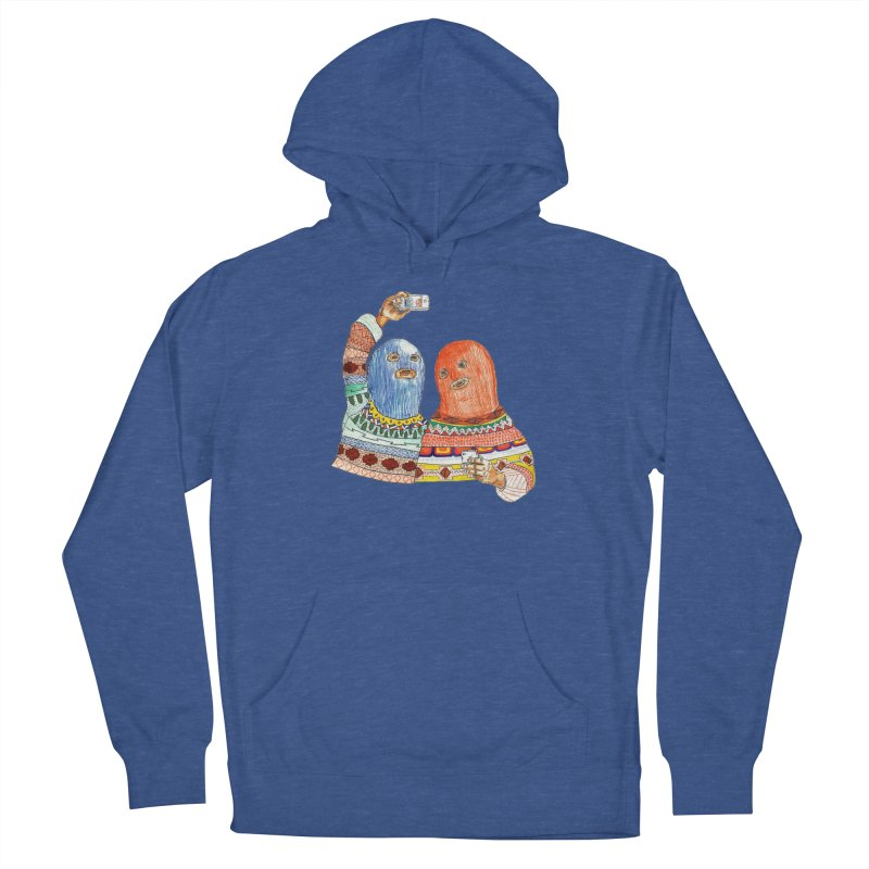 Selfies Men's Pullover Hoody by DEADBEAT HERO Artist Shop