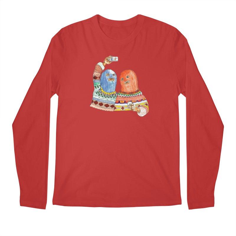 Selfies Men's Longsleeve T-Shirt by DEADBEAT HERO Artist Shop