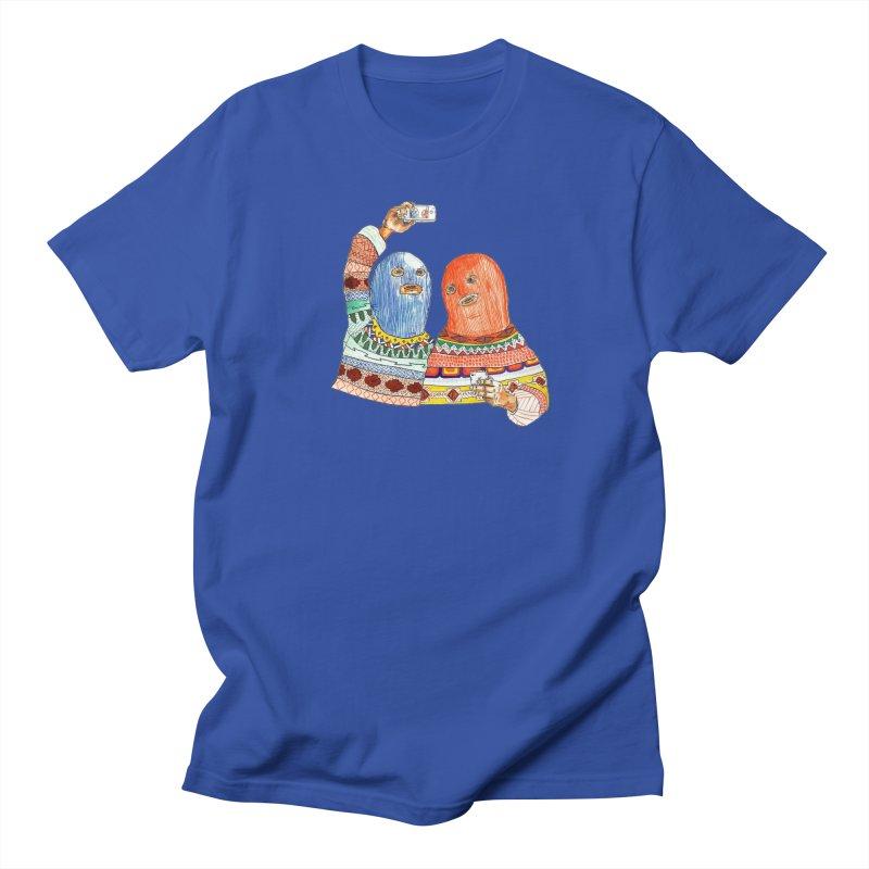 Selfies Men's Regular T-Shirt by DEADBEAT HERO Artist Shop